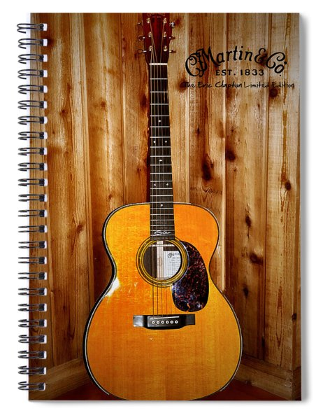 Martin Guitar - The Eric Clapton Limited Edition Spiral Notebook