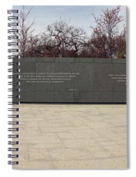 Martin Luther King Jr. Memorial At West Spiral Notebook