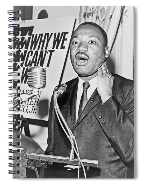 Martin Luther King Jr Spiral Notebook