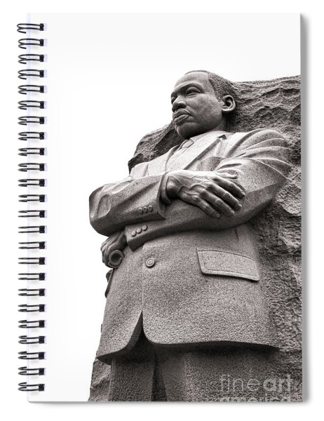 Martin Luther King Memorial Statue Spiral Notebook