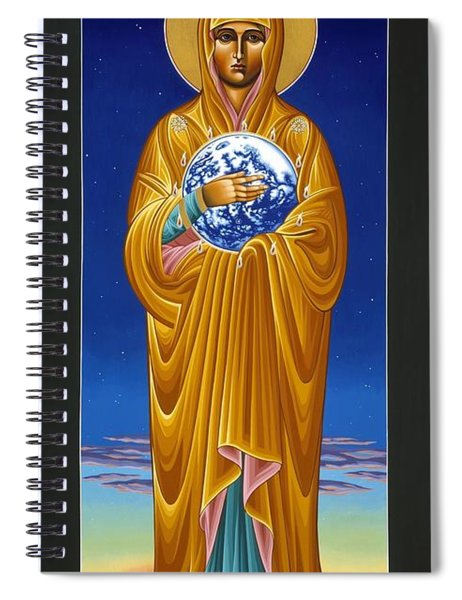 Mary Most Holy Mother Of All Nations 080 Spiral Notebook