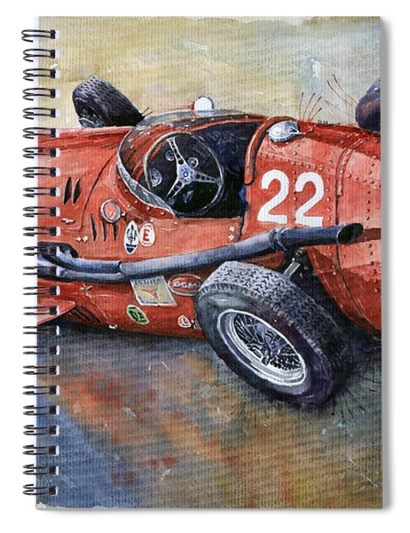 Maserati 250 F 1957  Spiral Notebook