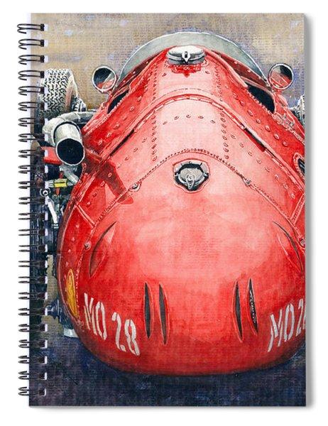 Maserati 250f Back View Spiral Notebook