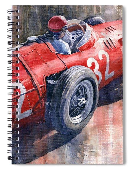 Maserati 250f J M Fangio Monaco Gp 1957 Spiral Notebook