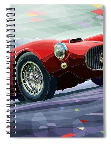Maserati A6gcs Berlinetta By Pininfarina 1954 Spiral Notebook
