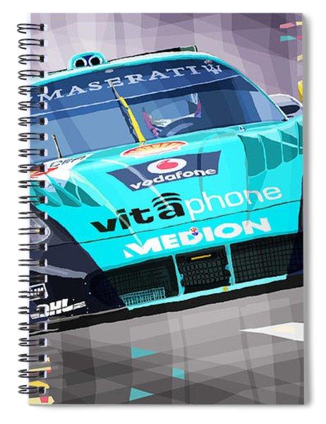 Maserati Mc12 Gt1 Spiral Notebook