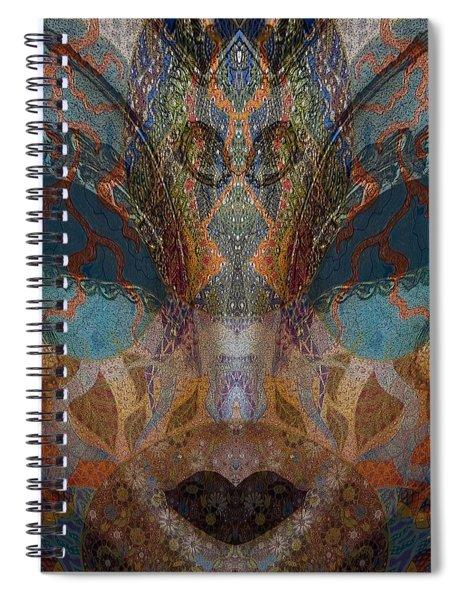 Mask 1 Spiral Notebook