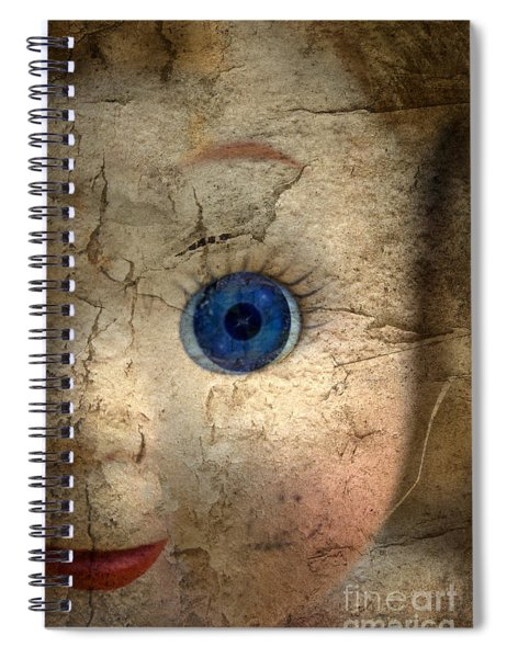 Mask Of Madness Spiral Notebook