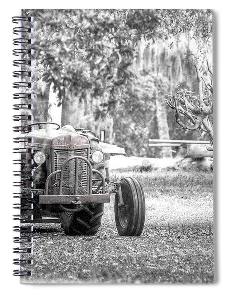 Massey Ferguson Tractor Spiral Notebook