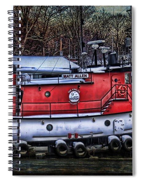 Matt Allen In Saugatuck Michigan Spiral Notebook