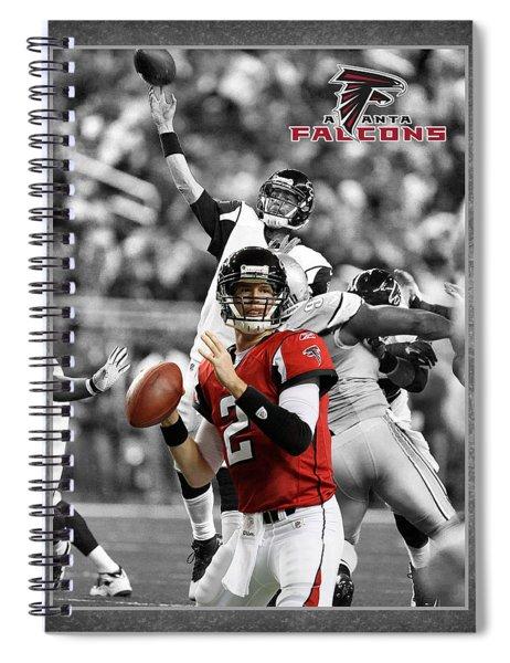 Matt Ryan Falcons Spiral Notebook