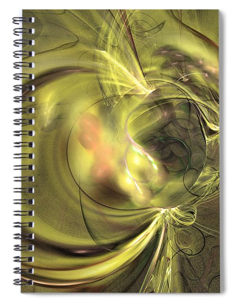 Maturation - Abstract Art Spiral Notebook