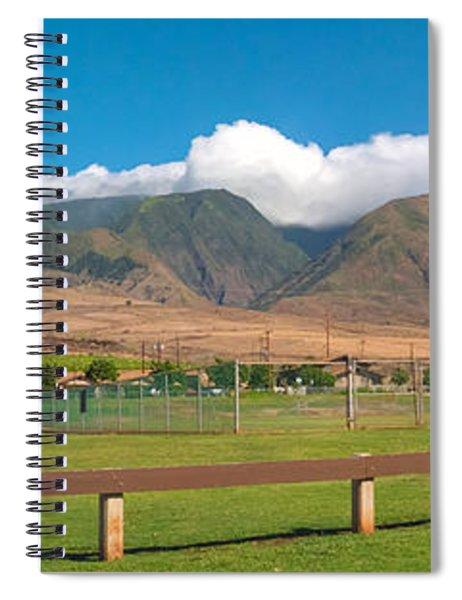 Maui Hawaii Mountains Near Kaanapali   Spiral Notebook