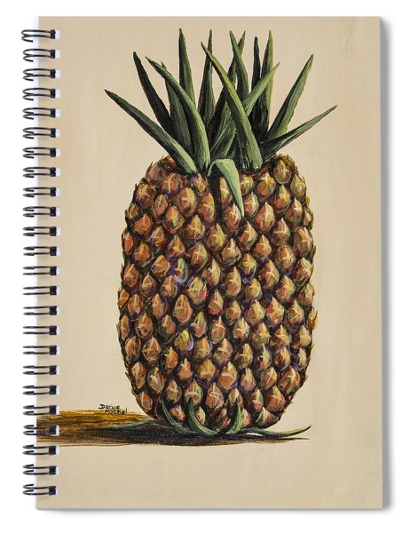 Maui Pineapple 3 Spiral Notebook