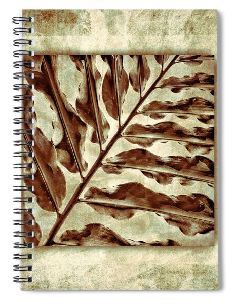 Maui Tropic Green Spiral Notebook