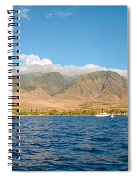 Maui's Southern Mountains   Spiral Notebook