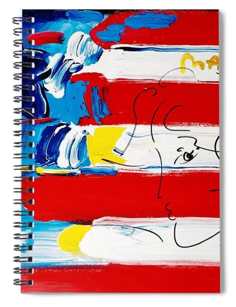 Max Stars And Stripes Spiral Notebook