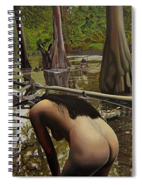 May Morning Arkansas River  2 Spiral Notebook