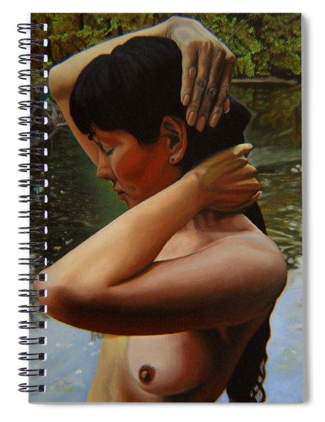 May Morning Arkansas River 3 Spiral Notebook