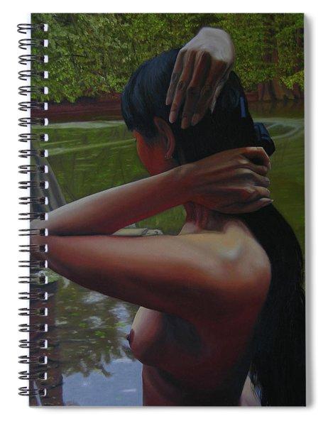 May Morning Arkansas River 6 Spiral Notebook