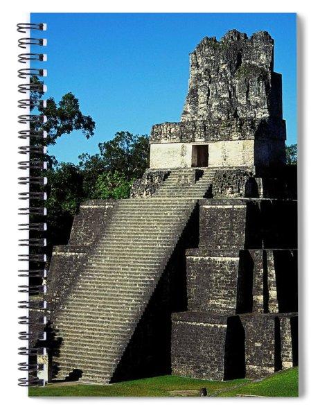 Mayan Ruins - Tikal Guatemala Spiral Notebook
