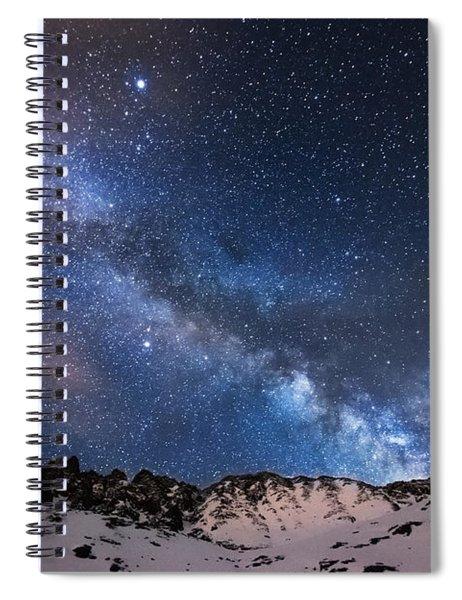 Mayflower Gulch Milky Way Spiral Notebook