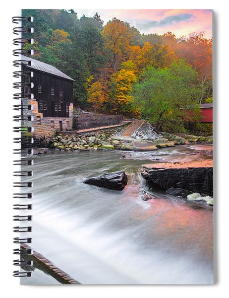 Mcconnell's Mill Fall  Spiral Notebook