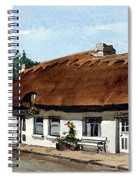 F 709 Mcdonaghs Pub  Oranmore Galway Spiral Notebook