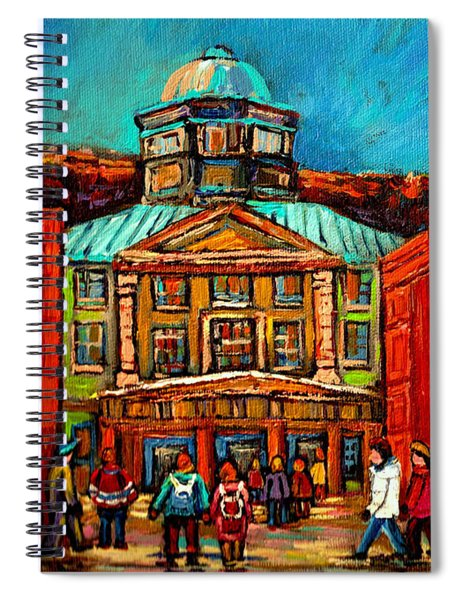 Mcgill Gates Montreal Spiral Notebook