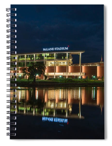 Mclane Stadium At Night Spiral Notebook