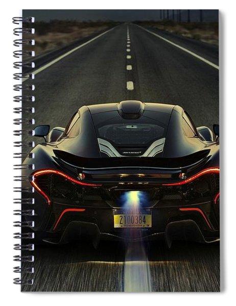 Mclaren P1 2014 Spiral Notebook