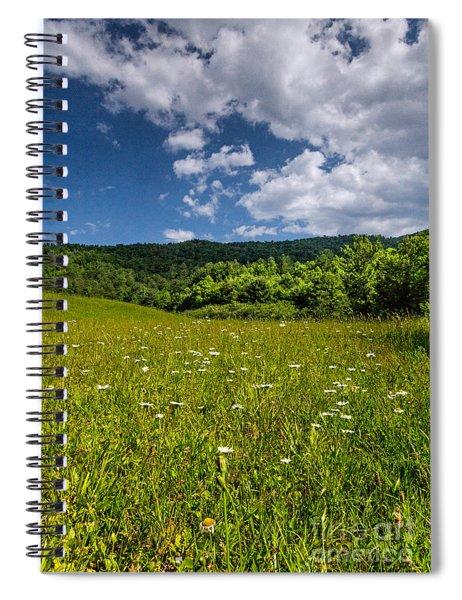Black Rock Mountains Spiral Notebook