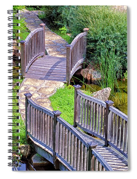 Meandering Pathway Spiral Notebook