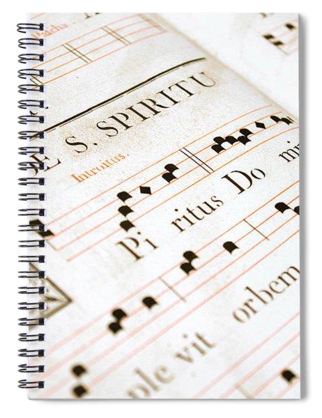 Mediavel Chorus Book  Spiral Notebook