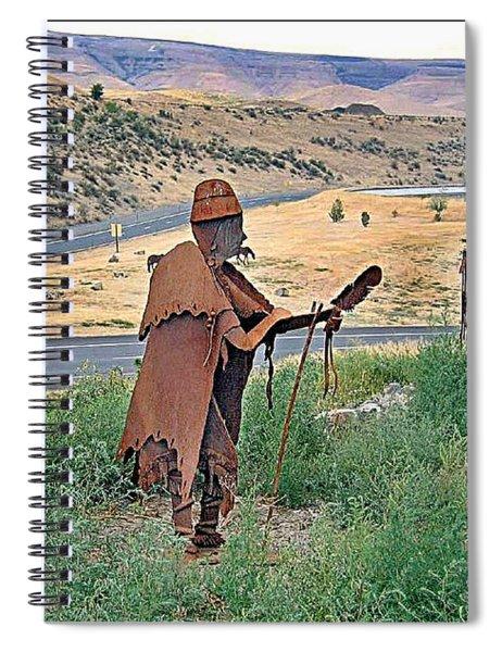 Medicine Man Spiral Notebook