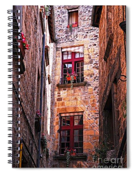 Medieval Architecture Spiral Notebook