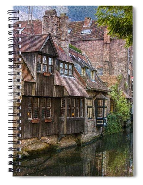 Medieval Bruges Spiral Notebook
