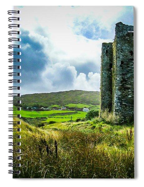 Medieval Dunmanus Castle On Ireland's Mizen Peninsula Spiral Notebook