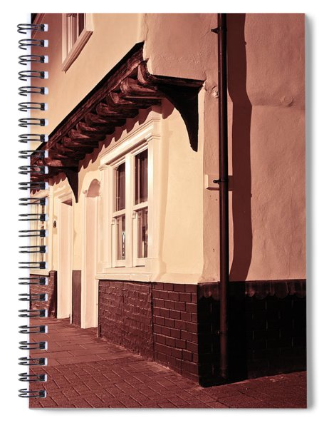 Medieval Houses Spiral Notebook