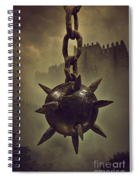 Medieval Spike Ball  Spiral Notebook