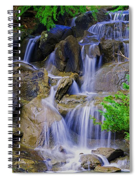 Meditation Moment Spiral Notebook
