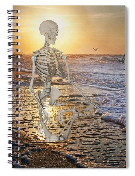 Meditative Morning Spiral Notebook