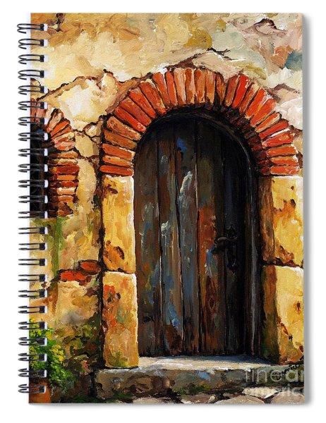 Mediterranean Portal 02 Spiral Notebook