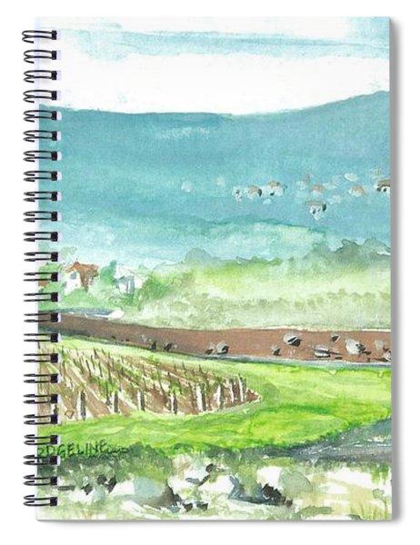 Medjugorje Fields Spiral Notebook