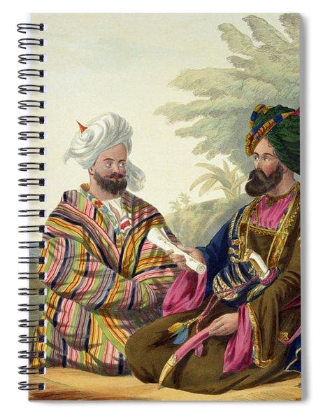 Meerz Fyze Spiral Notebook