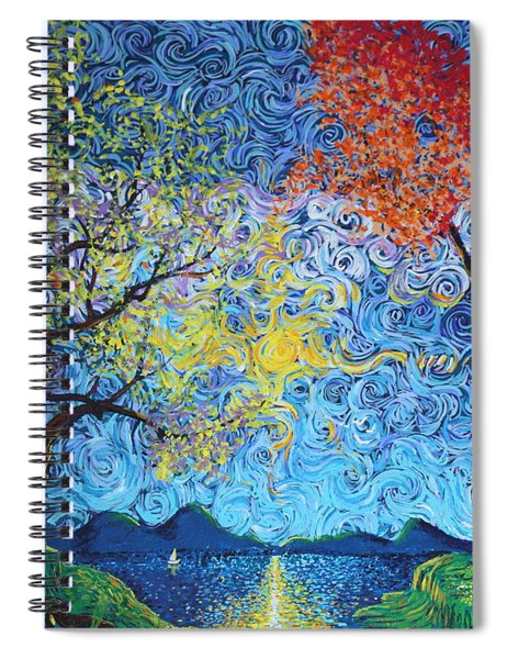 Our Ship Of Dreams Begins To Sail Spiral Notebook