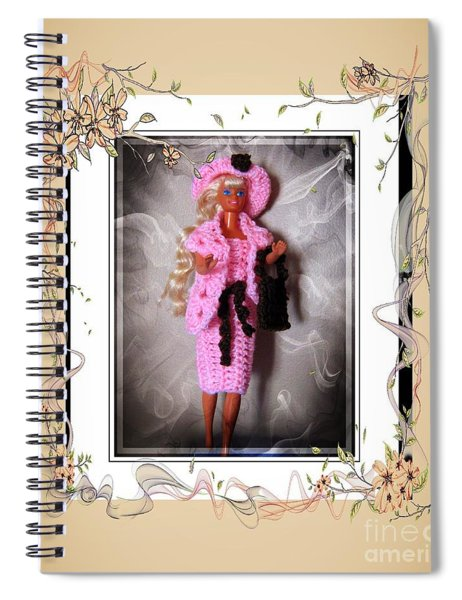 Meeting My Special Friend - Fashion Doll - Girls - Collection Spiral Notebook