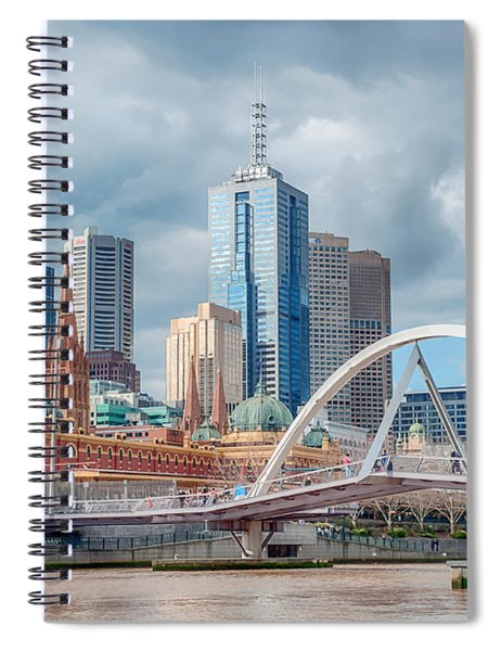 Melbourne Australia Spiral Notebook