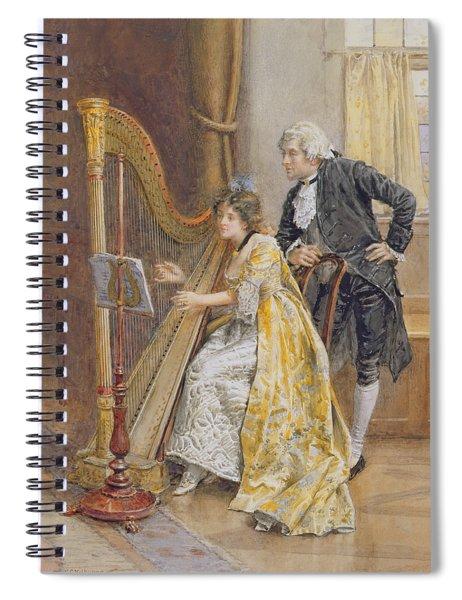 Memorys Melody Spiral Notebook