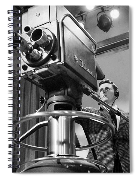 Memphis Television - 1956 Style Spiral Notebook